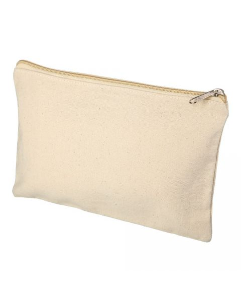 Zip Canvas Pouch