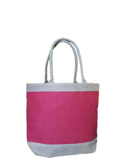 Red Centre Jute Bag