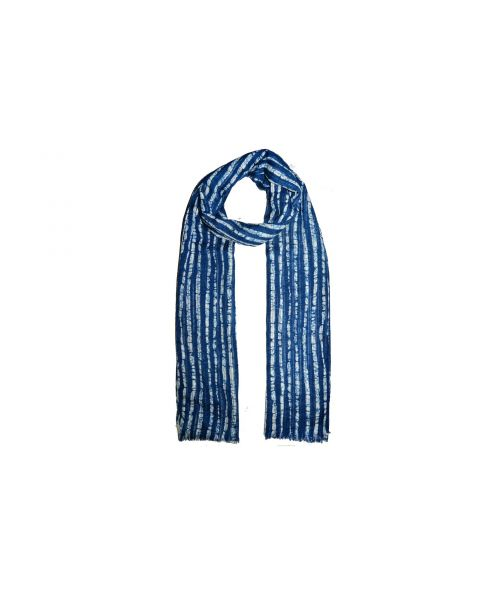 Indigo Cotton Scarf