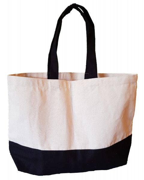 Dual Tone Canvas Bag