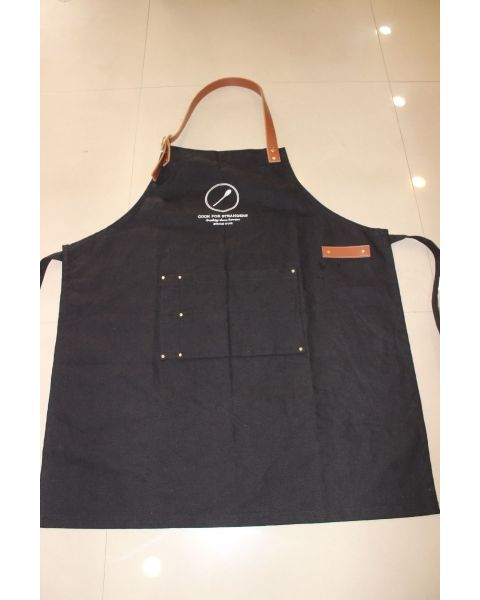"""Cook For Strangers"" Custom Apron"