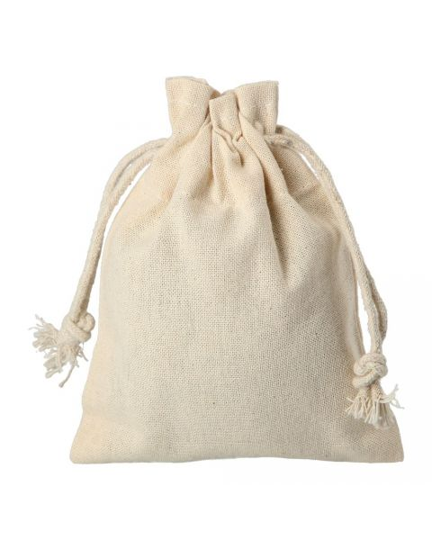 Cotton Drawstring Pouch Size A