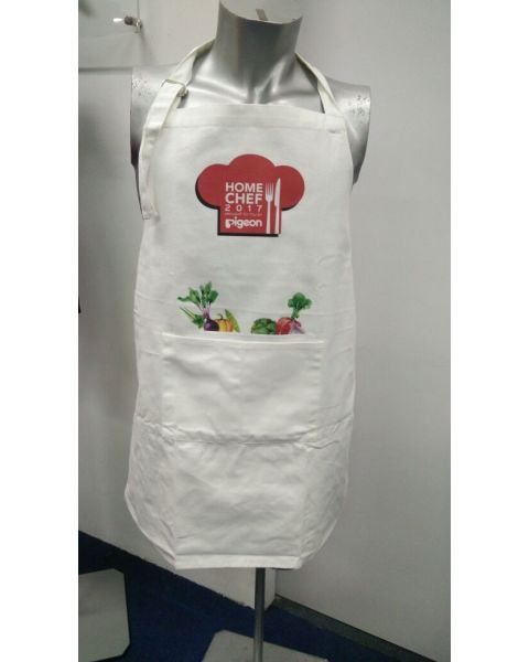 "White Apron ""Vegetables"""
