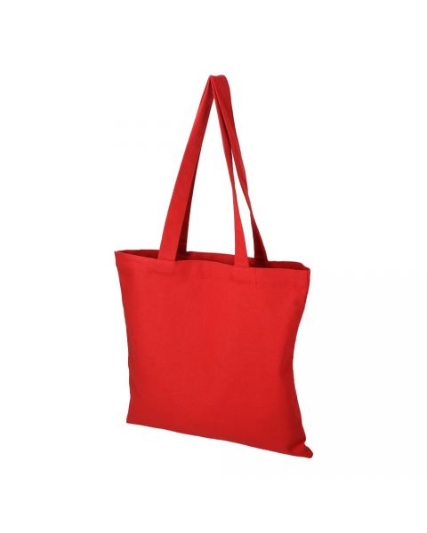 Red Cotton Tote