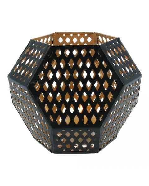 Hexagonal small candleholder