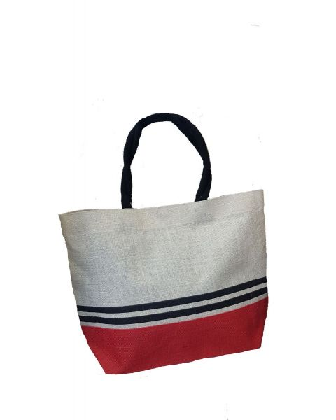 White Bag with Stripe